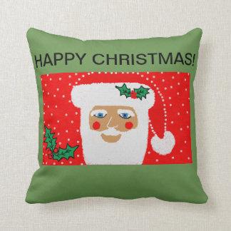 santa throw cushion