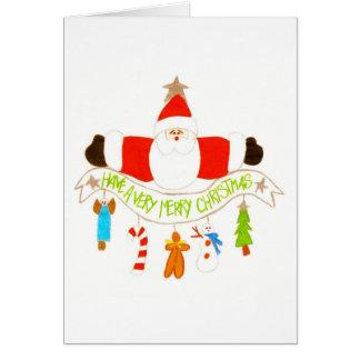 Santa & Trinkets Card