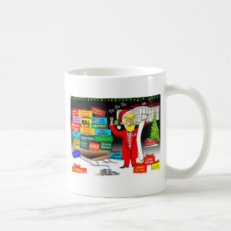Santa Trump Coffee Mug