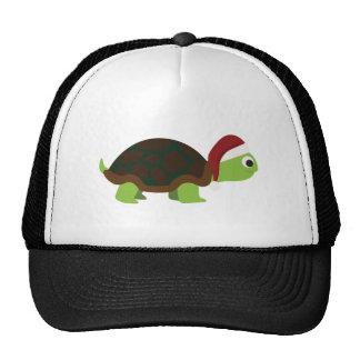 Santa Turtle Trucker Hat