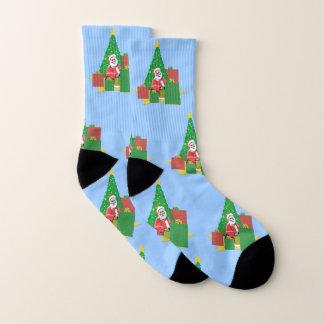 Santa Under The Christmas Tree 1