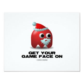 Santa (Virtual Game Face) Card