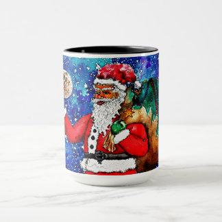 Santa Waves Mug