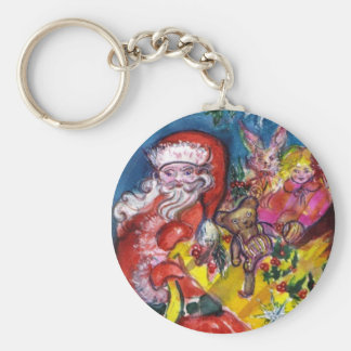 SANTA WITH GIFTS KEY CHAIN