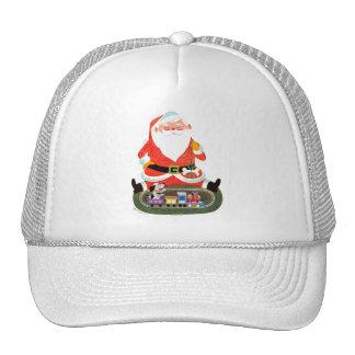 Santa with Train Cap