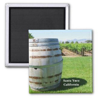 Santa Ynez Wine Country Magnet! Square Magnet