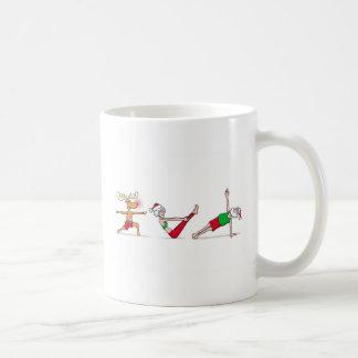 Santa Yoga Mug