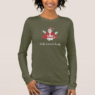 Santa Yoga | T-Shirt
