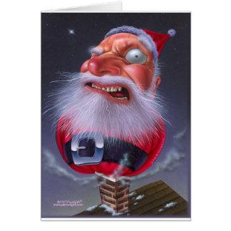 santaclause_chimney card