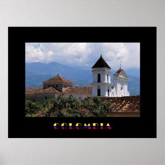 Santafe Antioquia Colombia Poster