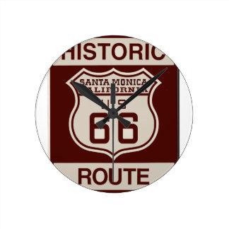 SANTAMONICA66 ROUND CLOCK