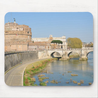 Sant'Angelo Castle in Rome, Italy Mouse Pad