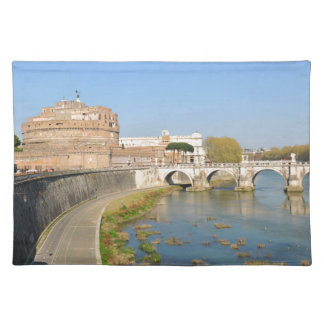 Sant'Angelo Castle in Rome, Italy Placemat