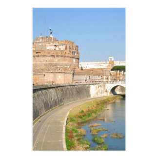 Sant'Angelo Castle in Rome, Italy Stationery