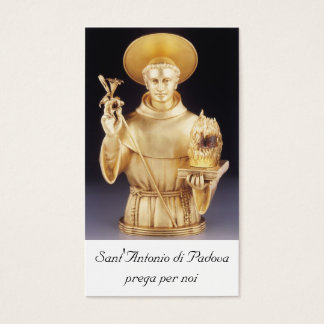 Sant'Antonio santino - st Anthony holy card