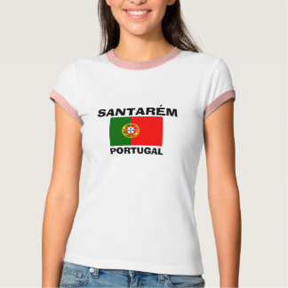Santarém* Portugal Flag Shirt  Camisa Santarém