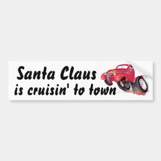 Santa's 39 Chevy bumpersticker Bumper Sticker