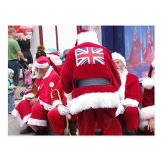 Santa's Around the World Post Cards