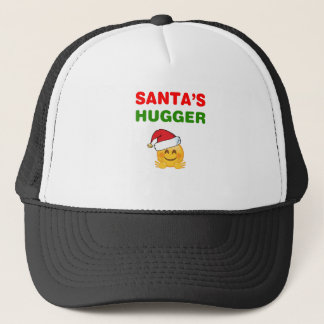 Santa's awesome hugger trucker hat