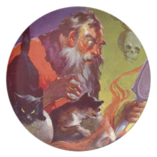 Santa's Bad Cats Plate