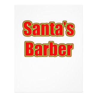Santa's Barber Custom Flyer