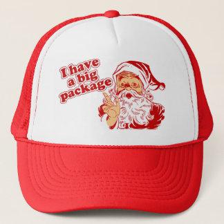 Santas Big Package Trucker Hat
