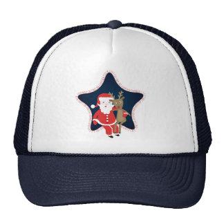 Santa's Buddy Trucker Hat