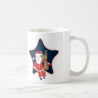 Santa's Buddy Coffee Mugs