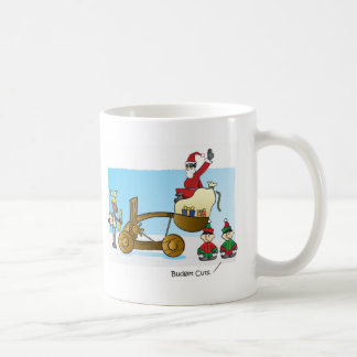 Santa's Budget Cuts Basic White Mug