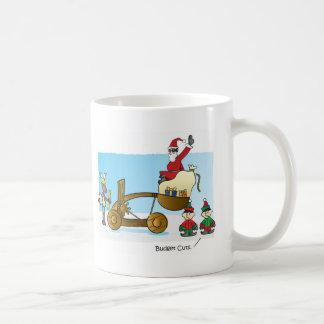 Santa's Budget Cuts Coffee Mugs