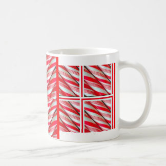 Santa's Christmas Peppermint Candy By Sharles Coffee Mugs