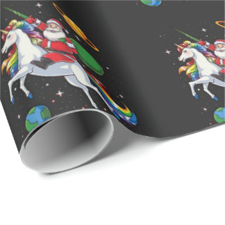 Santa's Coming to Town Wrapping Paper