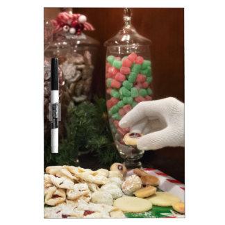 Santa's Cookies Dry Erase Board