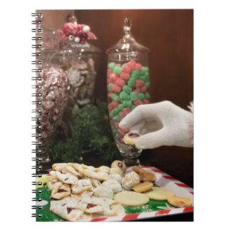 Santa's Cookies Notebook