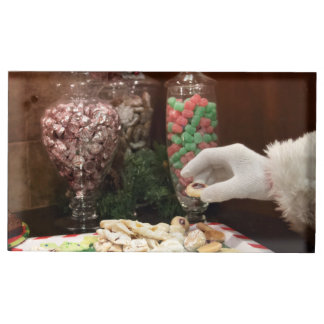 Santa's Cookies Place Card Holder