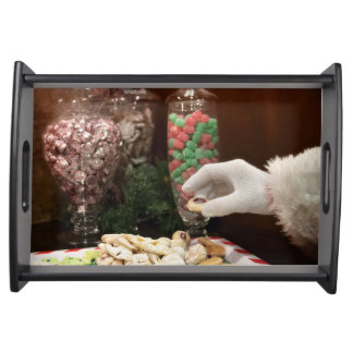 Santa's Cookies Serving Tray