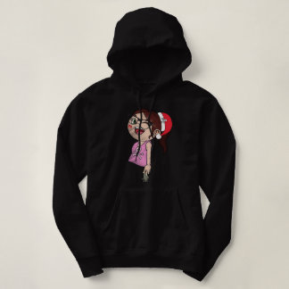 Santa's Daughter Hooded Sweatshirt