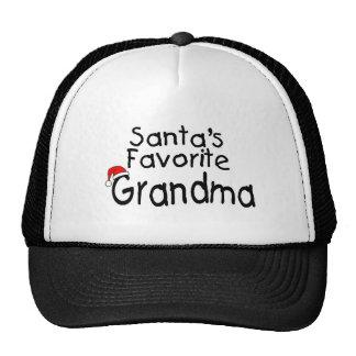 Santas Favorite Grandma 1 Cap