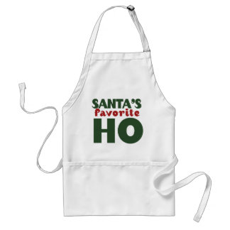 Santas Favorite HO Apron