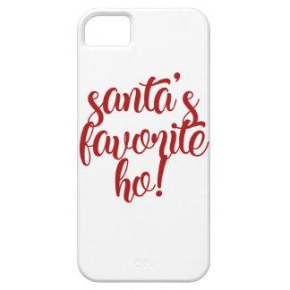 Santa's Favorite Ho! iPhone 5 Cases