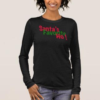 santa's favourite ho funny christmas t-shirt