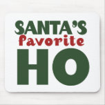 Santas Favourite HO Mouse Mat