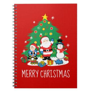 Santa's friends notebook