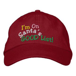 SANTA's GOOD List ... ; ) Cap by SRF Baseball Cap