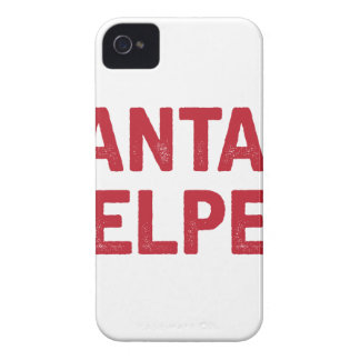 Santa's Helper iPhone 4 Case