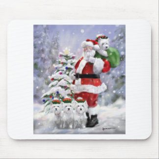 Santa's Helpers Mouse Pad