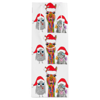Santa's Helpers Wine Bag (You can Customise)