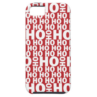 Santa's Ho Ho Ho iPhone 5 Case
