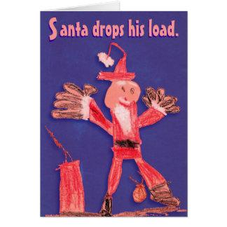 Santa's Holiday Load Card
