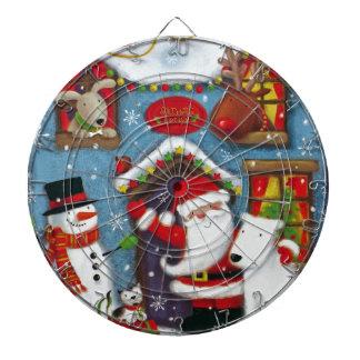 Santa's House Dartboard